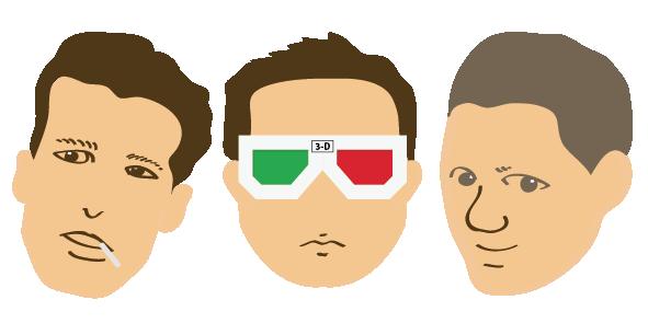 マッチ・3-D・スキンヘッド
